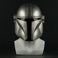 The Mandalorian Helmet Cosplay Costume Prop Star Wars Full Face PVC Soft Masks