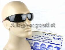 North DARK SAFETY SHOOTING GLASSES Hi-Viz ORANGE BLACK FRAMES Eye Protection NEW