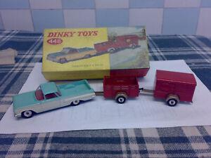 Original Dinky Gift Set No 448 Chevrolet El Camino