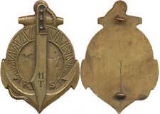 11° Régiment de Tirailleurs Sénégalais, lame bronze, peint, Sans marque