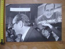 Photo KELER SYGMA Politique JACQUES CHIRAC 1976 Ussel election en Correze