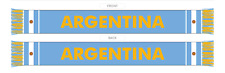 ARGENTINA SCARF FIFA WORLD CUP 2018 MADE IN THE UK 100% ACRYLIC