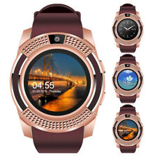 Smart Watch Fitness Tracker Make Call for Motorola G6 G7 Samsung S10e Note 8 S9