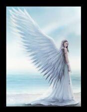 3D Bild mit Engel - Spirit Guide - Anne Stokes Leinwand Poster Foto Druck Deko