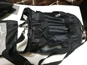 Pet Carrier Travel Bag World Pet Soft-Sided Canvas Mesh For Small Dogs Black