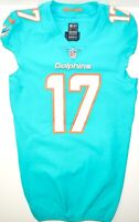 MIAMI DOLPHINS #17 RYAN TANNEHILL 2018 TEAM/PLAYER ISSUED AQUA NIKE SKILL JERSEY