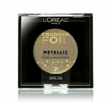 L'Oreal Infallible Crushed Foil Metallic Eyeshadow Eye Paint in 21 Gilded Gold