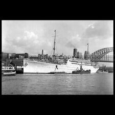 Photo B.000315 RMS FRANCONIA CUNARD LINE 1934 PAQUEBOT OCEAN LINER