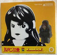 MEDICOM TOY Kubrick Fujiko Mine Motorcycle Set B Lupin III - Brand New