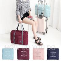 Portable Foldable Travel Storage Luggage Carry-on Big Hand Shoulder Duffle Bag