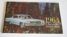Original 1964 Chevrolet Owner's Manual