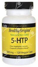 Healthy Origins,5-HTP économie Taille 100mgx120caps Anti-dépresseur Depressi