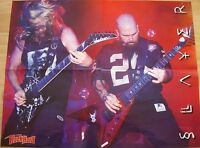 ⭐⭐⭐  SLAYER  ⭐⭐⭐  In Extremo  ⭐⭐⭐ 1 Poster ⭐⭐⭐  Plakat 46 cm x 58 cm  ⭐⭐⭐