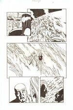 Establishment #9 p.20 Scarlet, Jon Drake 'Walking Dead Artist by Charlie Adlard Comic Art