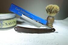 Rasoir coupe-choux A. Vedel Thiers Medaille  d'or straight razor rasiermesser