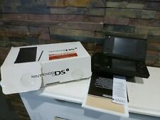 NINTENDO DSi BLACK CONSOLE - BOXED - WORKING. FAST/FREE POSTING