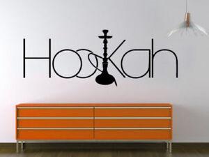 Wandtattoo Shisha, Nargile, Hookah Wandsticker Innenraumdesign