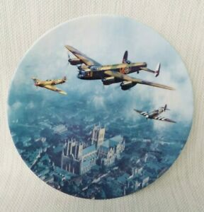 Royal Doulton Flight Over Lincoln Limited Edition Aircraft Heroes In Sky -P173