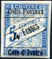 COLONIES CÔTE D'IVOIRE COLIS POSTAUX N° 16 NEUF*