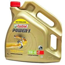 Castrol Power1 4T 10W-40 4 Litres Motorcycle 4 Stroke Engine Oil for Honda Bikes