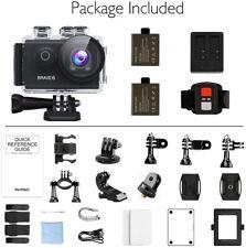 AKASO Brave 6 4K HD 20MP WiFi Action Camera Voice Control Underwater Waterproof