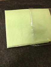 """LIME VOILE CURTAIN 1 Voile Panel Rod Pocket Heading 59"""" Wide X 72"""" Drop"""