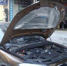 Car Auto Engine Hood Bonnet Sound Deadening Heat Insulation Pad 10mm 3pcs (1x1M)
