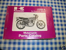 BB 99910-1040-03 catalogo ricambi  KAWASAKI Z250-A   ediz. 1980