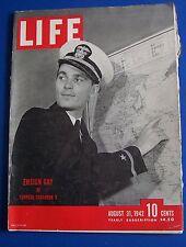 Ensign Gay LIFE Magazine 1942 Disney NY Old Ads