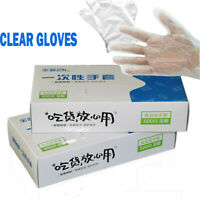 Cleaning Plastic Clear Household Gloves Disposable Gloves Protective Isolation