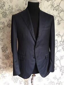 SARTORIA CANTARELLI Mens Wool Pinstripe Blazer Coat EU 50 US/UK 40 Drop 7C EUC