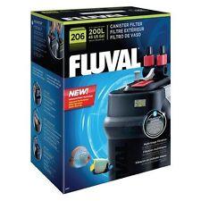 FLUVAL 206 - EXTERNAL CANISTER FILTER - AQUARIUM MARINE OR TROPICAL FISH TANK!
