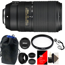 Nikon AF-P DX Nikkor 70-300mm f/4.5-6.3G ED (VR) Lens + Top Accesory Kit