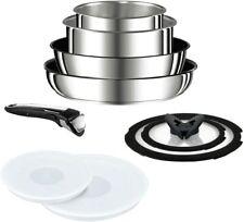 T-FAL Pan 9 pcs set detachable handle Ingenio Neo IH Stainless steel L93989 New