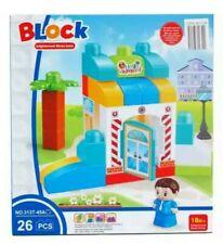 26-Piece Assorted Color Blocks Play Set