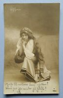 alte Ansichtskarte Postkarte Dame Frau Mignon Moreau Paris Papier Radium Brom