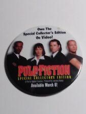 RARE Pulp Fiction Special Collector's Edition DVD Release Button-*Error*