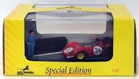 Art Model 1/43 Scale ART911 - Ferrari Dino 206 Nurburgring 1987 #34 J.Guichet