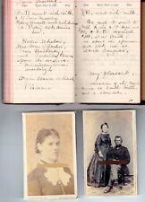 1900 Handwritten Diary Mary Sherman Poole Dartmouth Bristol MA Horseneck Beach