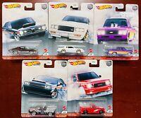 Hot Wheels-Car Culture-Power Trip-Complete Set Of 5