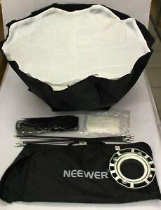 Neewer 80 X 80 cm Gitter Achteck Schirm Softbox mit Bowens Einfassung Speedring