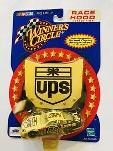 NASCAR Dale Jarrett Gold Diecast UPS Race Hood Collection 2001