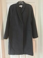 Gerard Darel Wool Angora Manteau Coat Gray Size 14 US 46 France NWT New