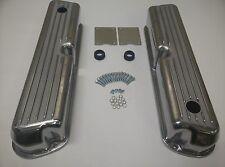 Small Block Ford Mercury 289 302 351W 5.0L Aluminum Retro FINNED Valve Covers