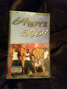 69 BOYZ 2069 SEALED tape cassette 2000 Jake Records Hip Hop new sealed.