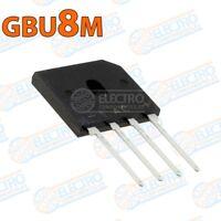 Puente rectificador GBU8M 1000v 8A - Arduino Electronica DIY
