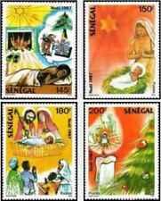Timbres Religion Noel Sénégal 738/41 ** lot 24457