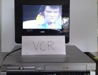 ▶GO VIDEO Sonic Blue DVR4100👉DVD disc💿VHS VCR tape📼Player⏩w/ remote & cables✔