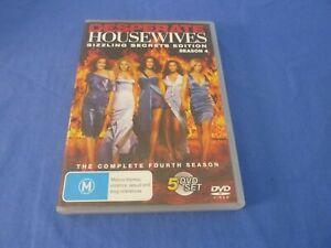 Desperate Housewives Season Four 4 Sizzling Secrets Edition DVD Region 4