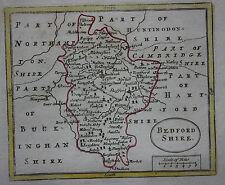 Original antique county map of BEDFORDSHIRE, Seller / Grose c.1780